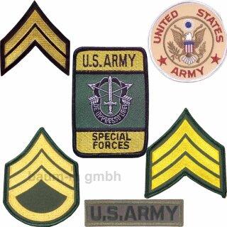 """Abzeichen """"U.S. Army"""" Aufnäher Patches verschiedene Modelle"""