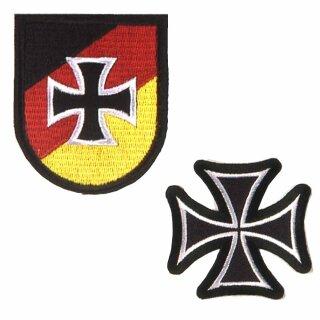 """Abzeichen """"Reservisten der Bundeswehr"""" oder """"Eisernes Kreuz"""""""