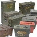 Munitionskiste der U.S. Army in verschiedenen Größen, Zustand: gebraucht oder neuwertig