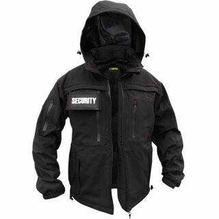 Softshell Security- und Freizeit-Jacke von COPTEX, Farbe: schwarz