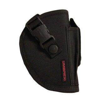 Gürtelholster mit Magazintasche aus Nylon für mittelgroße Pistolen