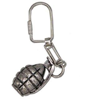 Schlüsselanhänger Handgranate, Feldflasche oder Pilotenhelm