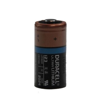 Batterie DURACELL ULTRA LITHIUM 123  CR17345/DL123 3V