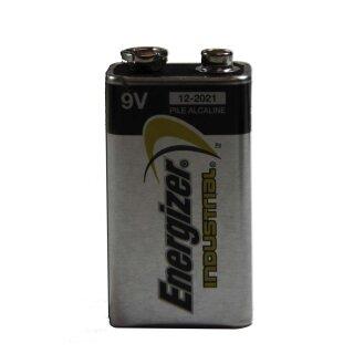 Batterie Energizer industrial 9 V (passende Batterie(n) für Artikel-Nr. 718 & 722)