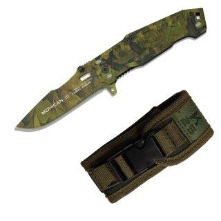 Taschenmesser Mohican III Pocket von K25 mit Etui