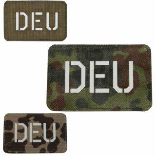 DEU - Nationalitäts - Erkennungsabzeichen Nationalitätsabzeichen nachleuchtend