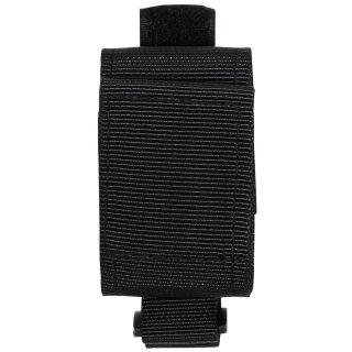 Handschuhhalter Nylon schwarz für Koppel oder Gürtel