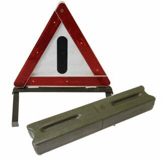 Warndreieck von der Deutschen Bundeswehr, Zustand: gebraucht