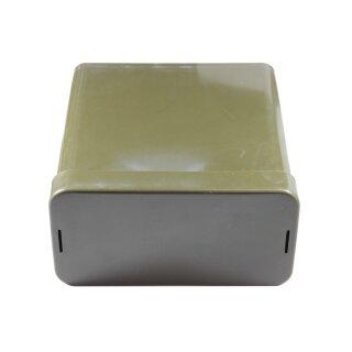 Kunststoffbox, Farbe: oliv -gebraucht-