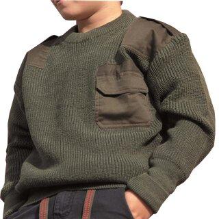 "Kinder-Pullover ""COM.PULLOVER KIDS PAN"" Farbe: oliv"