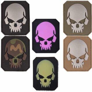 Emblem 3D Patch Skull-Totenkopf -groß-