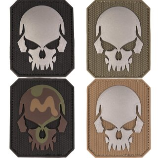 Emblem 3D Patch Skull-Totenkopf -klein-