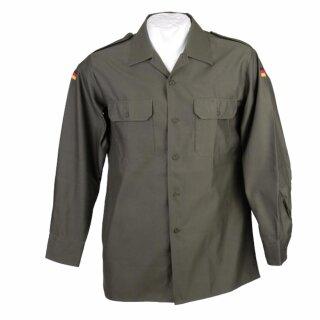 Feldhemd Original Bundeswehr gebraucht Farbe: oliv