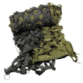 Tarnnetz, 6 x 3 m, oliv, mit Tragebeutel