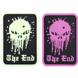 Emblem 3D PVC Skull The End