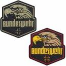 Emblem 3D PVC Bundeswehr mit Adlerkopf