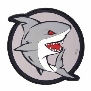 Emblem 3D PVC Angreifender Hai #17087