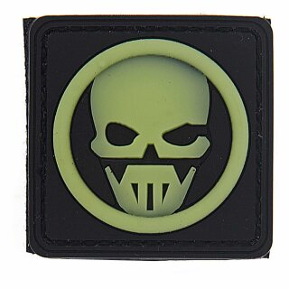 Emblem 3D PVC Ghost #11401G