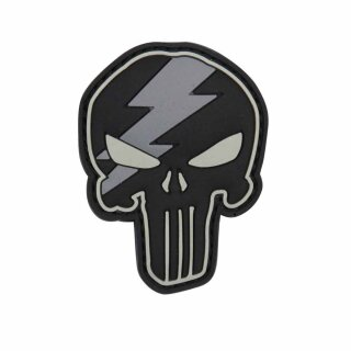 Emblem 3D PVC Punisher Thunder