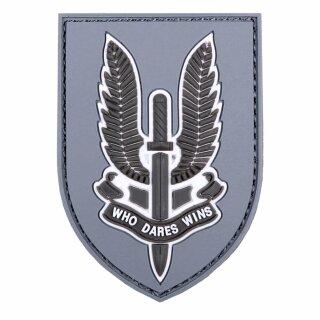 Emblem 3D PVC WHO DARES WINS #6100