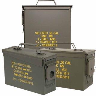 US-Munitionskiste (Nachbau) von MIL-TEC®  in 3 Größen