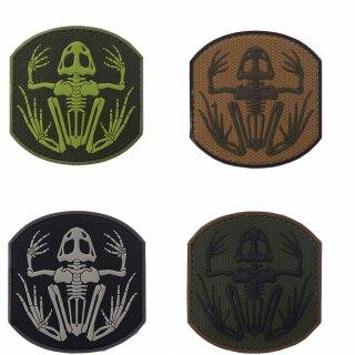 Emblem 3D PVC Frog Skeleton