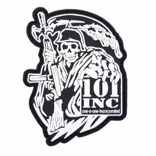 Emblem 3D PVC 101 INC Reaper Gun #4102
