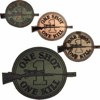 Abzeichen OSOK - Scharfschützenabzeichen  ONE SHOT ONE KILL