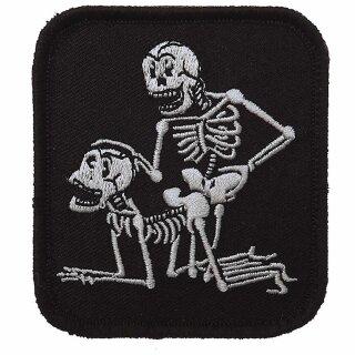 Stoff-Emblem 2 Skelette #4083