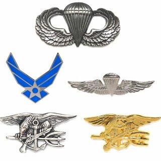 US Abzeichen Airforce Para Wing Navy Marine