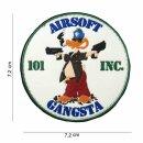 Emblem 3D PVC Patch Airsoft Gangsta