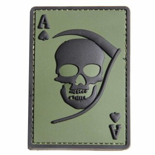 Emblem 3D Patch Pik As - Abzeichen Death Ace