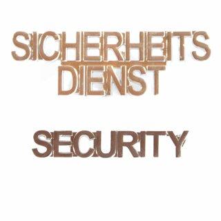 Pin Security oder Sicherheitsdienst