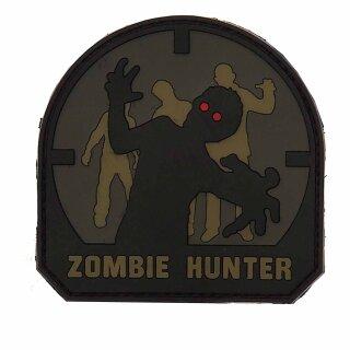Emblem 3D PVC Zombie Hunter