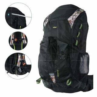 Rucksack Hunter Pro 32 (Volumen 32 Liter) Farbe: schwarz-camouflage