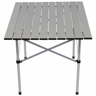 Camping-Tisch / Rolltisch von Fox Outdoor aus Aluminium mit klappbarem Gestell