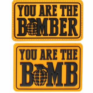 Emblem 3D Rubber Patch You are the Bomb(er)