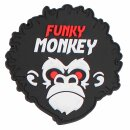 Emblem 3D Rubber Patch Funky Monkey #5120