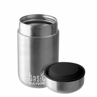 Thermobehälter - 0,4 L Edelstahl von basic NATURE