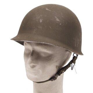 """Österr. BH Helm """" M1 """" mit Kunststoff-Innenhelm, Zustand: gebraucht"""