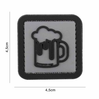 Emblem 3D Rubber Patch Bier