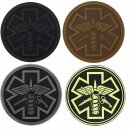 Emblem 3D Rubber Patch Para Medic