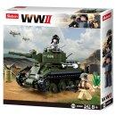 Baustein-Set Panzer WWII Allied cavalry tank M38-B0686...