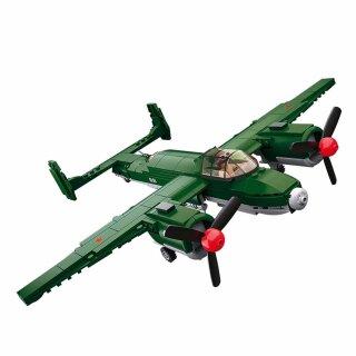 Baustein-Set Flugzeug WWII Allied Bomber M38-B0688 von Sluban