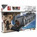 Baustein-Set Landungsboot WWII Landing Craft Assault...