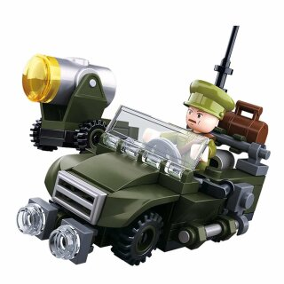 Baustein-Set WWII Army model B M38-B0678B von Sluban
