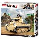 Baustein-Set Panzer WWII small German Tank M38-B0691 von...