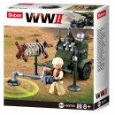 Baustein-Set Minen-Sucher WWII Allied minesweeper...