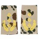 Rangschlaufen für Schulterklappen (Heer) für die Deutsche Bundeswehr, tropentarn mit schwarzem oder goldenem Stick