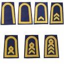 Rangschlaufen für Schulterklappen (Marine) für...